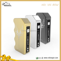 Best supply original Rotk Vic 80W box mod fit tank 0.1-4.0 ohm