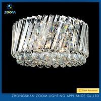 Elegant design splendid clear crystal living room ceiling lamps