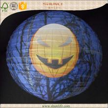 halloween mosaic lantern stakes paper decoration