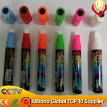 Hot sale high quality import 8mm marker pen for led writing board for shops advertising super brightness and flashing