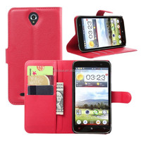 mobile phone case for Lenovo ,leather folio case for Lenovo A850 cover