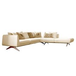 latest top Replica Matthew Hilto three seater sofa/ full genuine leather hippo sofa/ genuine leather corner sofa leather corner
