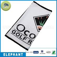 Golf sporting product golf gift personalized golf towel