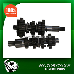 Motorcycle Parts Transmission Main Shaft Counter Shaft Assy for Lifan 200cc Motorcycle