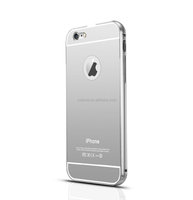 Wholesale Ultra Thin 24K Gold Arcylic 6 6S 6 Plus Bumper TPU Mirror Back Case For Apple Iphone Compatible brand