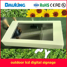 42inch outdoor portrait wall mounted restaurant LCD TV