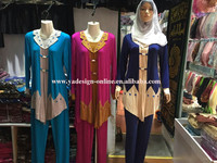 C404 Arab women clothing set,ethnic styles abaya,Muslim wear
