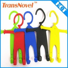 silicone body charge hook mobile phone holder funny cell phone holder