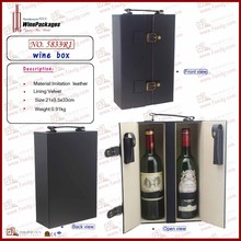 Wine Package high quality wine packaging box of 2 bottle