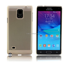 light weight plastic waterproof cell phone case for samsung galaxy note 4
