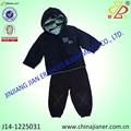 llegada baratos bebé dos piezas de ropa conjunto personalizado deinvierno al por mayor de prendas de vestir para bebés
