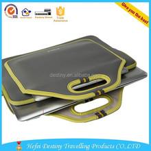 lightweight cheap printing multifunctional neoprene mini laptop sleeve with handles