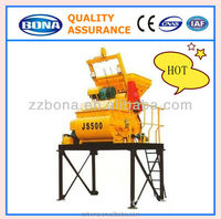 2015 Good quality tractor concrete mixer with pump for sale JS500