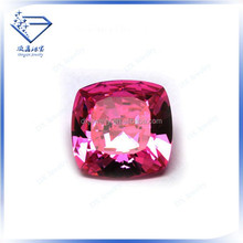 High quality sterling silver square cz gemstone beads jewelry