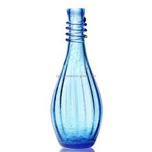 wholesale antique blue glass vase