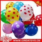 baratos circular manchas de látex decoração festival balão colorido