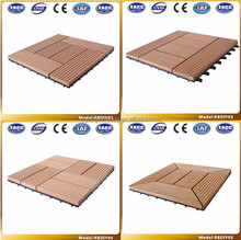 high quality outdoor waterproof decking /pool deck tiles/waterproof outdoor decking tile