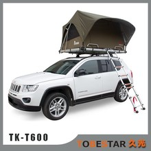 Automatic Fast Unfolding Canvas Car Roof Top Tent for Camping