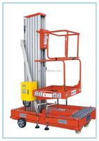 hydraulic aluminum work platform portable manlift