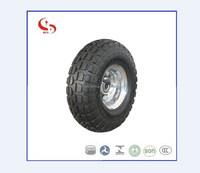 3.50-4 Amercian market Wheelbarrow Pneumatic rubber Wheel