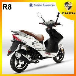 2014 ZNEN mini chopper 50cc engine scooter Off road Gas motorbike MP3 LED Light
