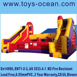 outdoor giant inflatable Battle Zone sports games,inflatable fighting game