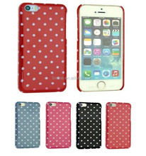 New Arival Dots Back Case Cover For iPhone 5S