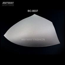 Diseño del triángulo traje de baño sujetador taza con precio de fábrica