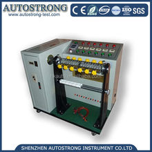 cable reverse bending test machine