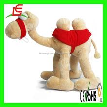 D205 Large plush animals plush stuffed camel toy for kids