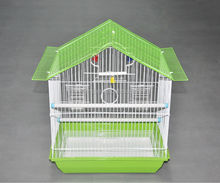 metal wire folding portable bird breeding cage wire bird breeding cage pet cage