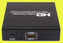 Top quality 1080p hdmi to 5.1 rca with HDMI out HDCP support
