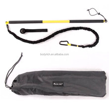 Belt Trainer Kit for Home Exercise / Outdoor Training Bands includes DVD and Guide