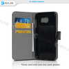 Sample available wholesale price wallet mobile phone leather case for galaxy s6