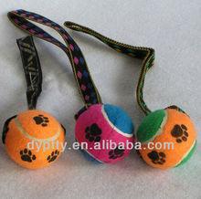 Safety pet tennis ball toys