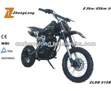 new design 150cc 2 stroke dirt bike with engine