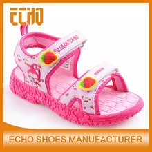 Hot selling comfortable children sports sandals outdoor sandals for boys kids lighted sandals