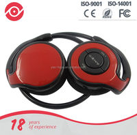 Portable folding lightweight wireless stereo with built-In Mic sports exercise bluetooth 4.0 headphone headsets for smart phone