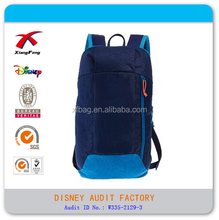 High calss large unisex polyester fashionable active high school backpacks bags