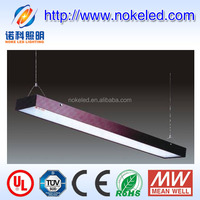 Sling installation 40W 2014 NEW type led commercial suspended ceiling light fittings