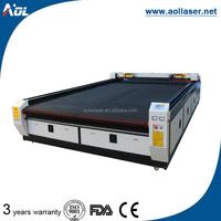 China CO2 auto feeding leather/fabric/cloth cutting machine lasers 1300*2500mm