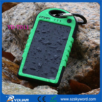 External Storage Li Polymer Battery Solar Mobile Charger for iPhone 6 Plus sansumg s5