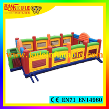 China Kule inflatable sport games inflatable basketball game new designed portable inflatable baskerball and soccer field