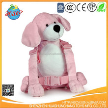plush baby Harness bag/ plush animal baby carrier and walker