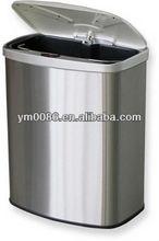 caliente de venta electrónica de cubo de basura del sensor 8l yuming