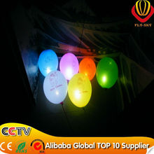 newest design party wedding decoration led balloon luminous flashing balloon professional manufacturer glow balloon