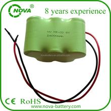 shenzhen nova D ni-cd battery pack c size 4000mah 6v power tool battery