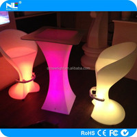 Alibab express led illuminated furniture,led bar table , led cocktail table . 12V lamp,full color led table for using or decors