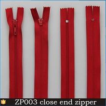 Cool summer hot sale 5 Zipper para a China vestuário fornecedor No. 3 nylon com zíper para listrado vestido de malha