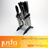 New Products 7pcs Steel head Kitchen Knife Set with Scissor Holder